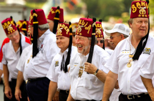 Thousands of Shriners
