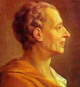 Masones: Montesquieu